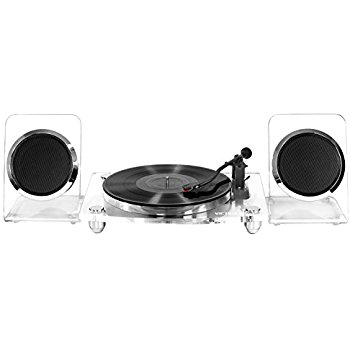 Bluetooth Turntable with Wireless Speakers